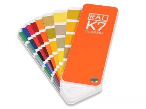 Spalvų paletė RAL Classic K7