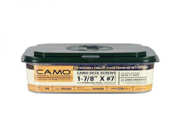 CAMO nerūdijančio plieno medsraigčiai