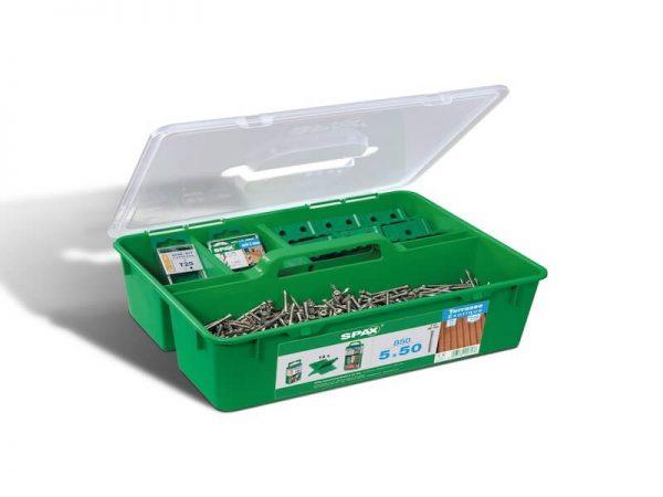 Spax rinkinys terasai | Green Box