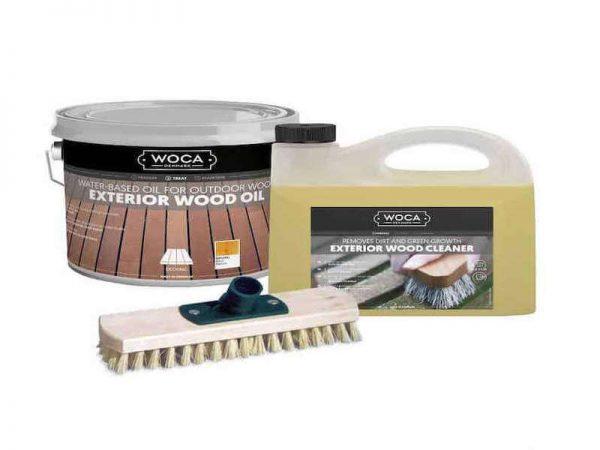 Woca rinkinys terasos atnaujinimui