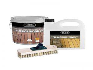 Woca rinkinys terasos atnaujinimui | Dovana šveitimo šepetys