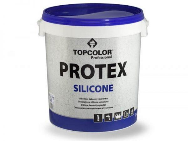 Silikoninis tinkas | PROTEX SILICONE A