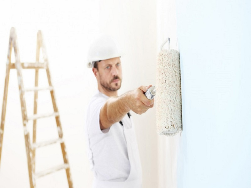Sienų dažymas, sienų dažymo patarimai.
